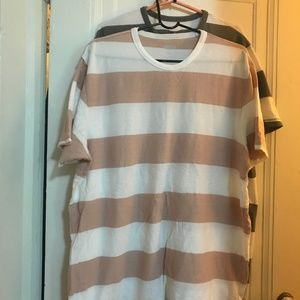 Terry-Cloth Tee for Men XL Tall